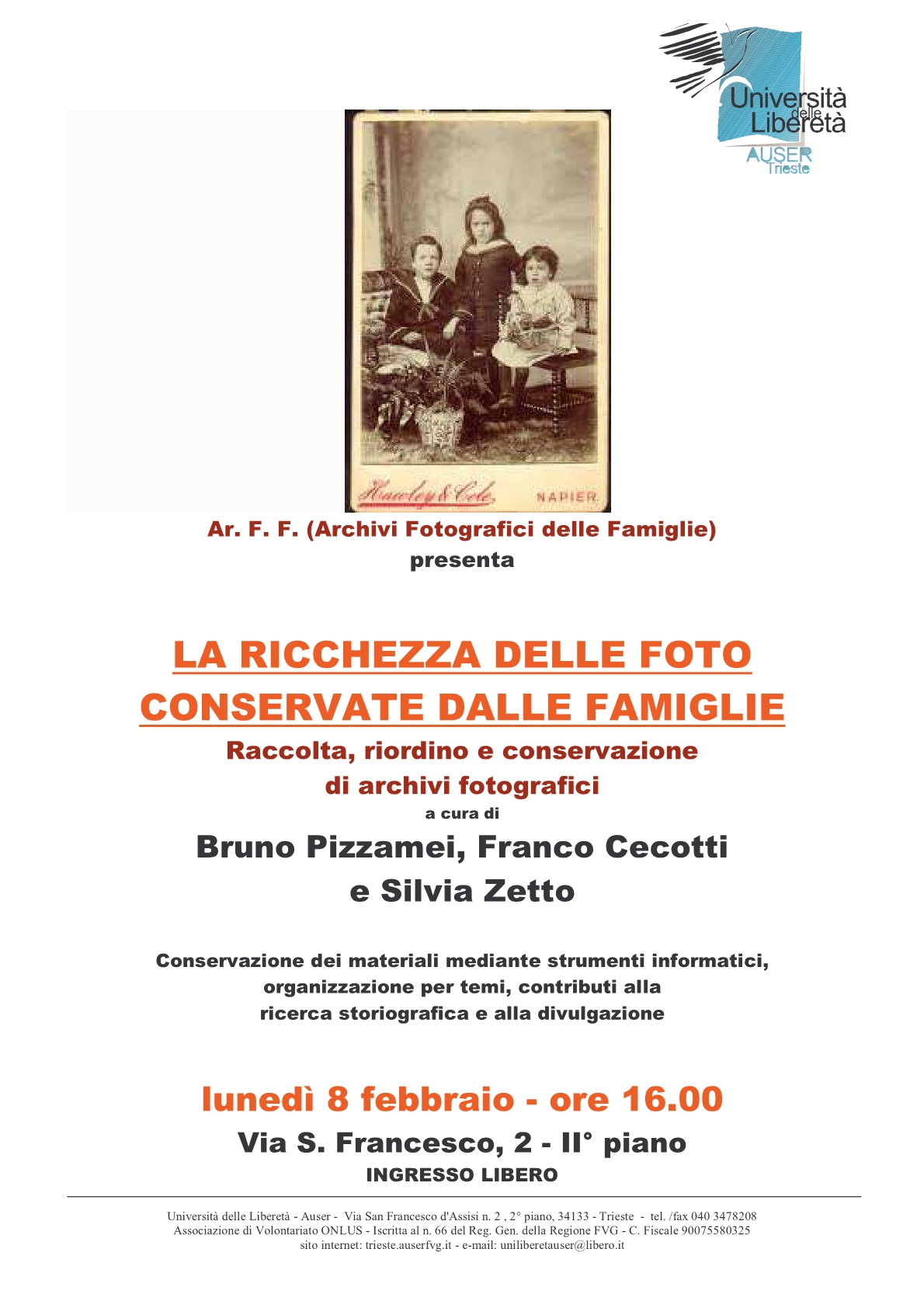 locandina archivi foto famiglie1