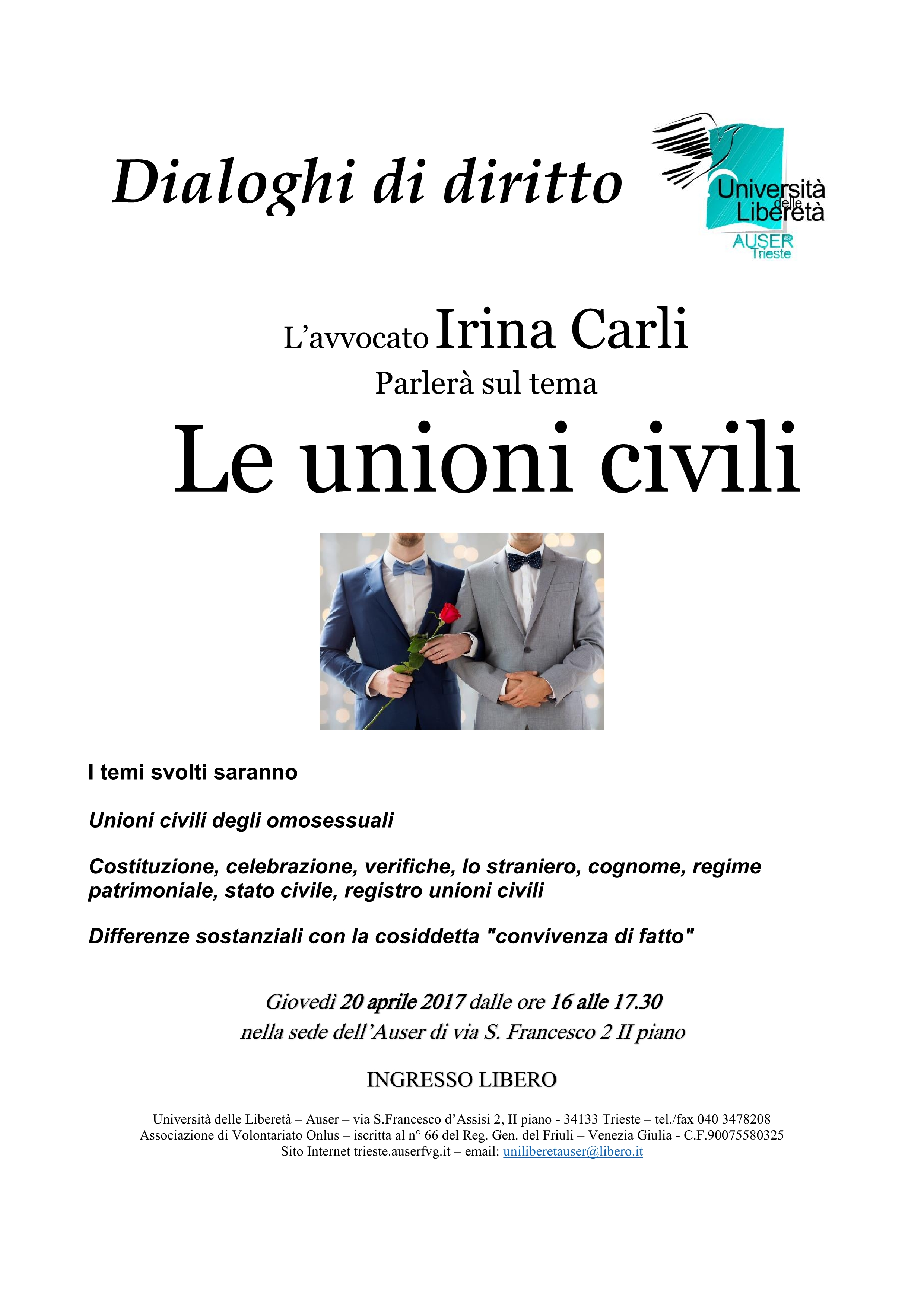 Le unioni civili II parte