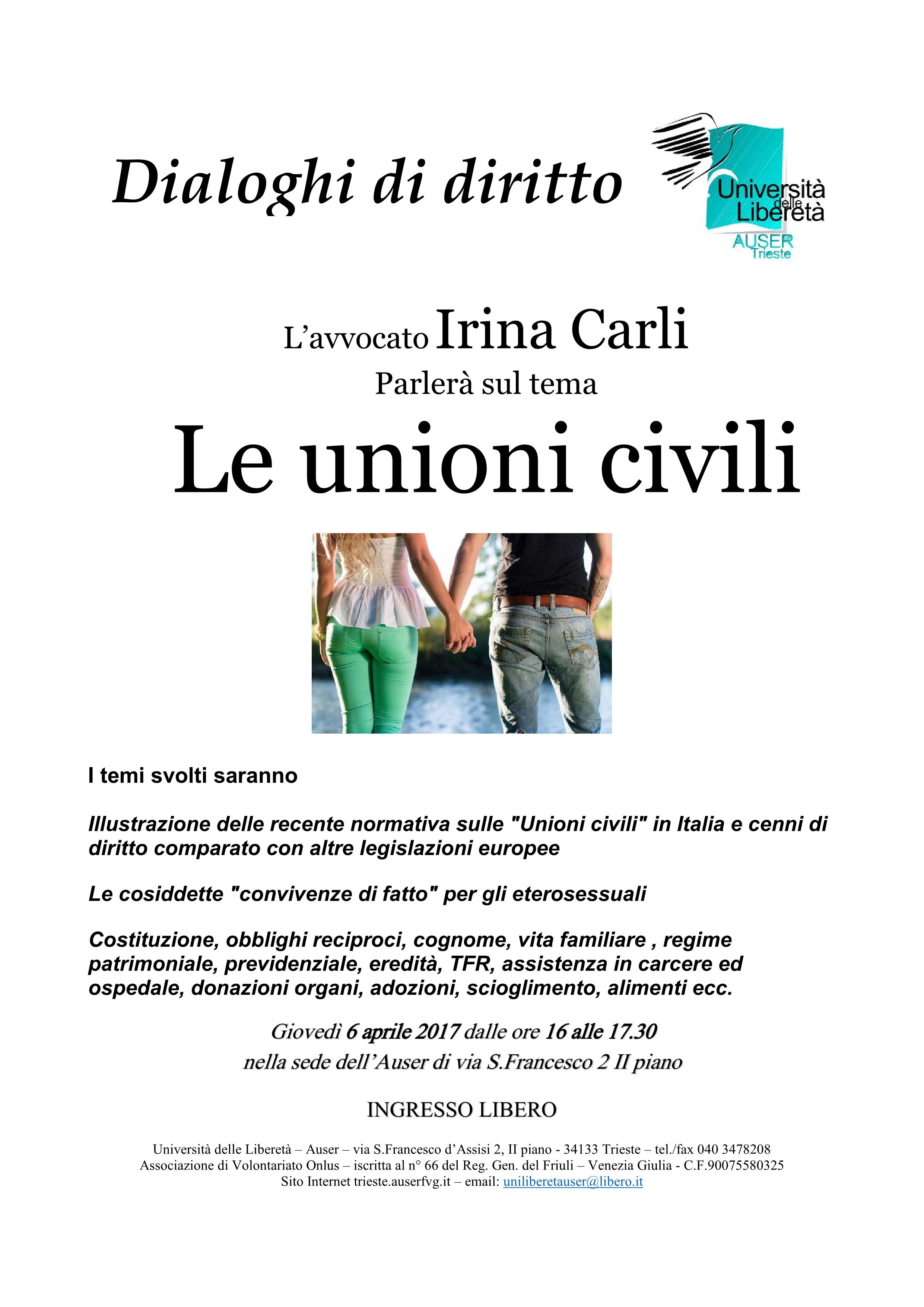 Le unioni civili1