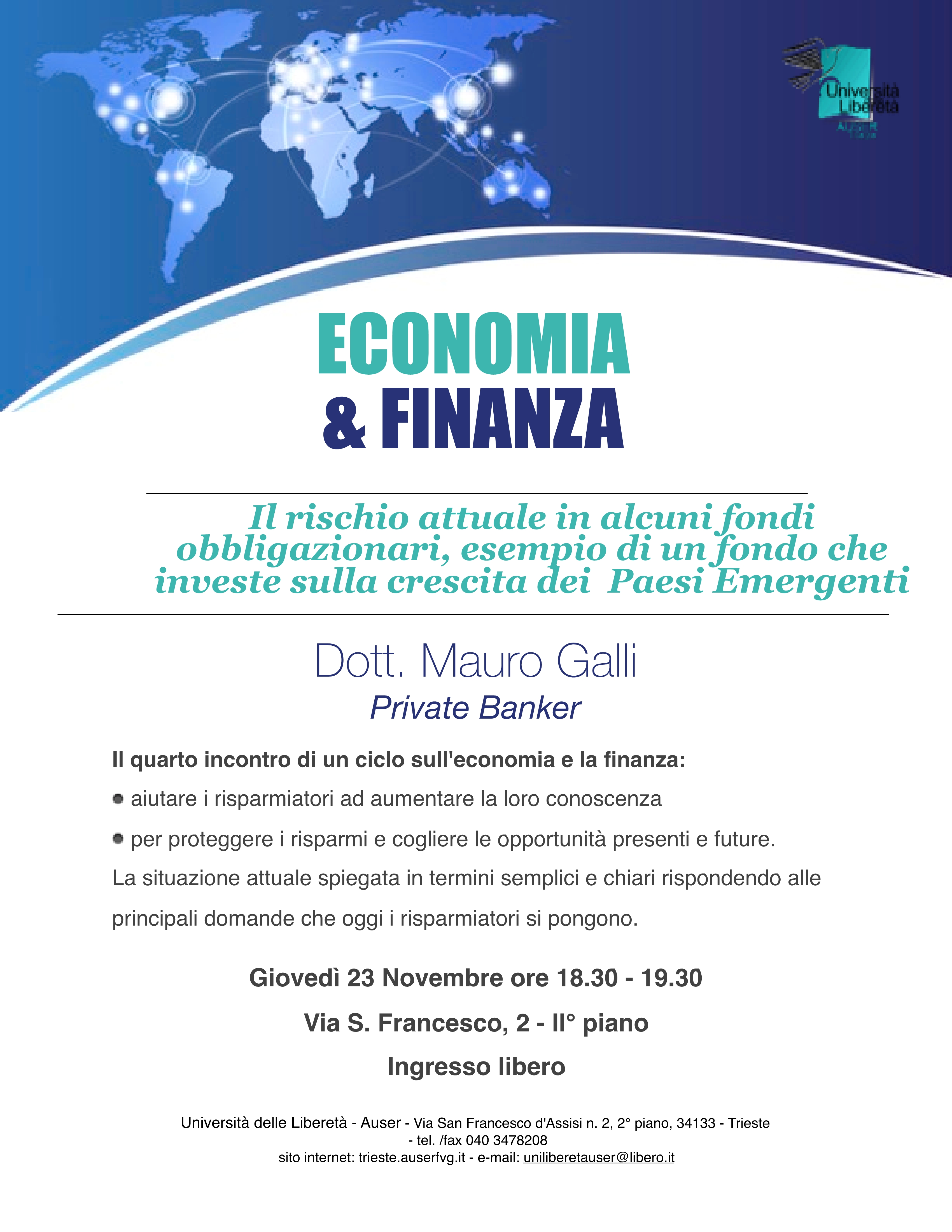 Economia e finanza 23 nov1