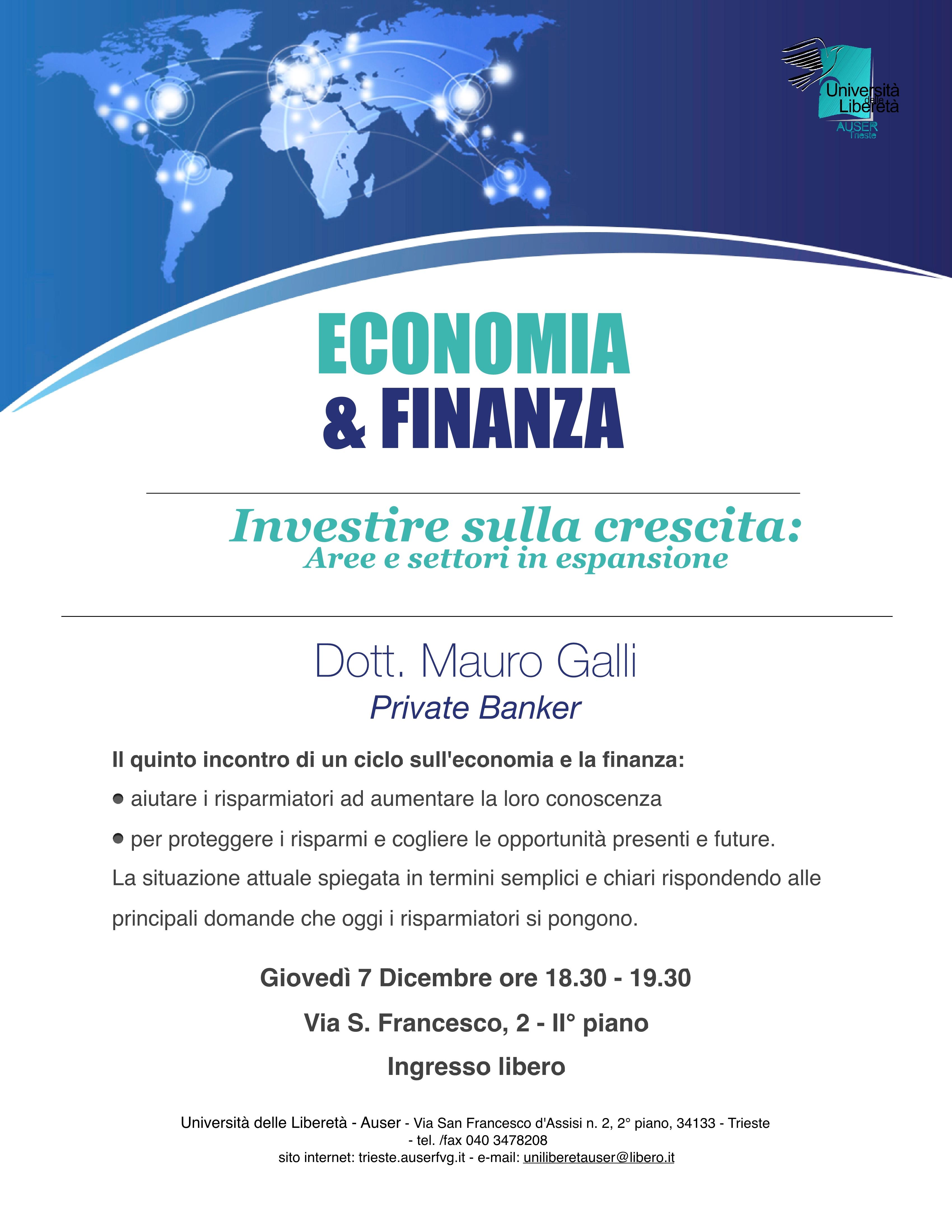 Economia e finanza 7 dicembre1