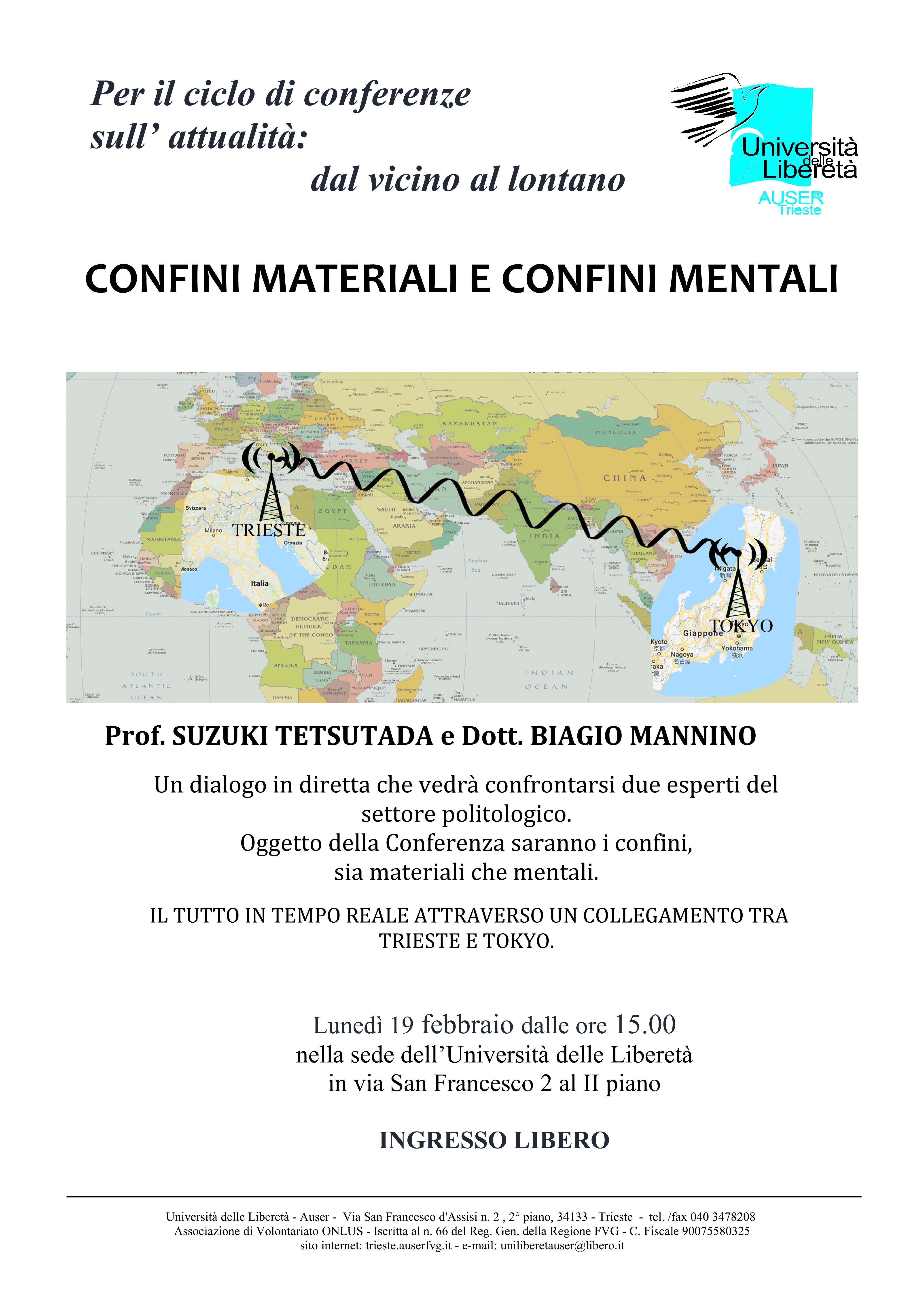 Confini materiali e confini mentali1