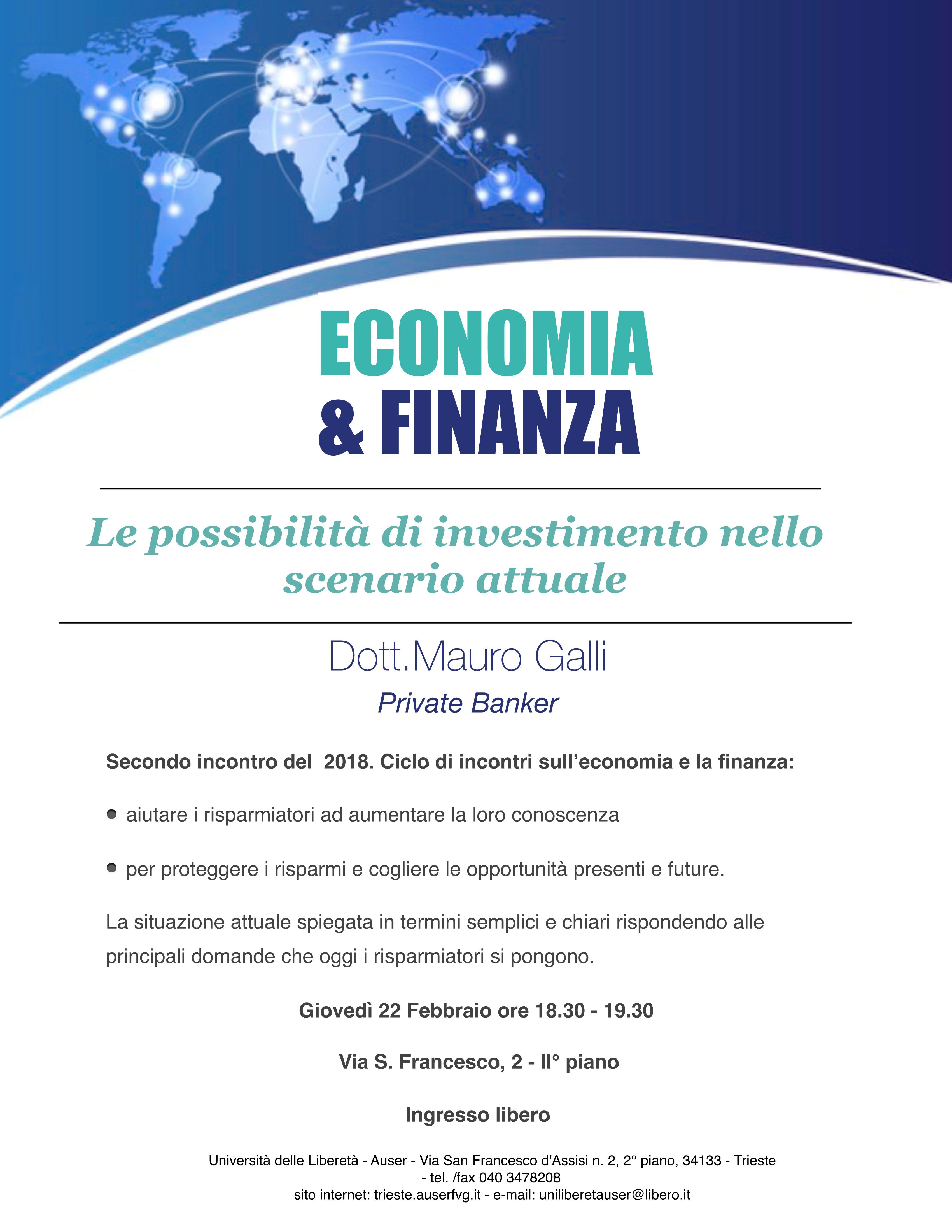Economia e finanza 22-02-181