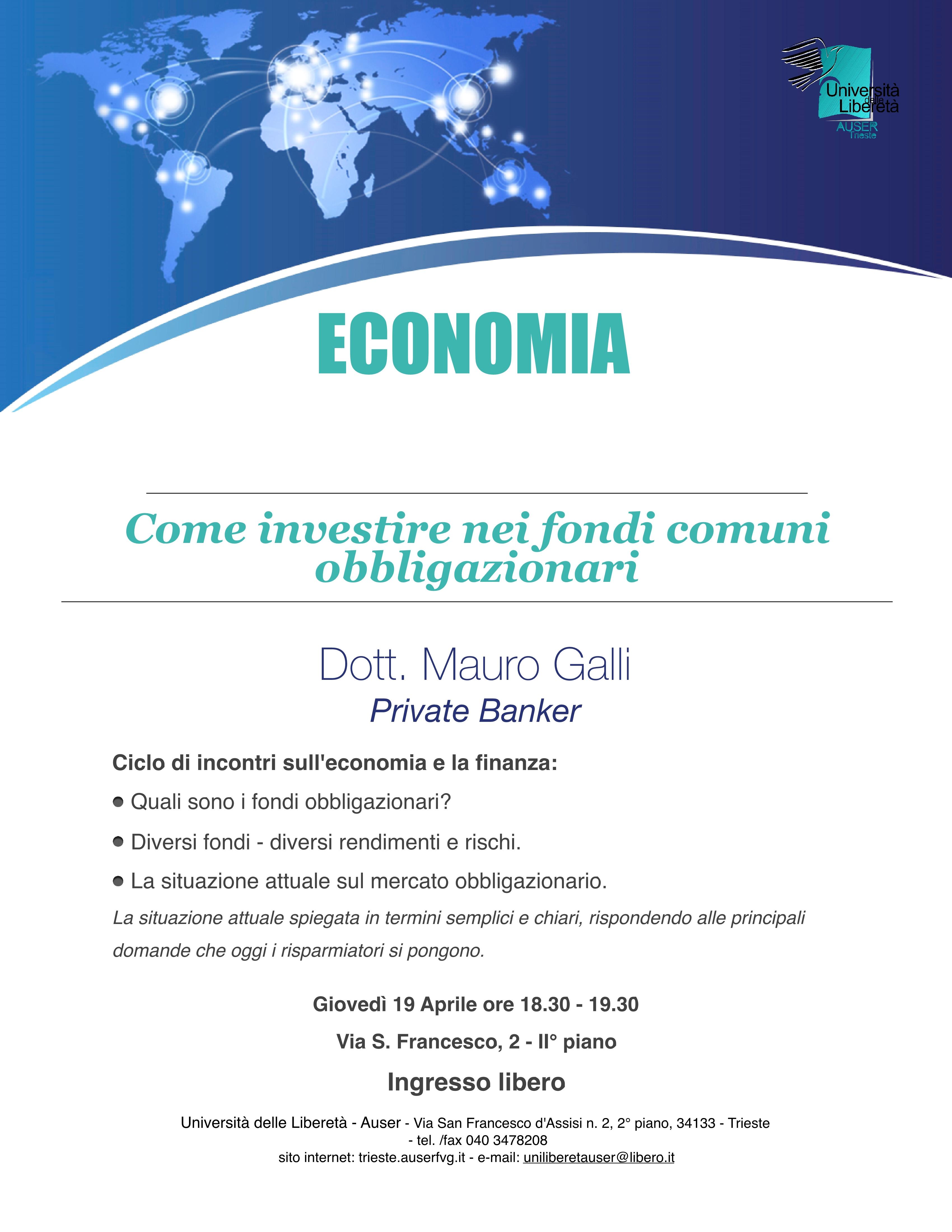 Economia e finanza 19 aprile 20181