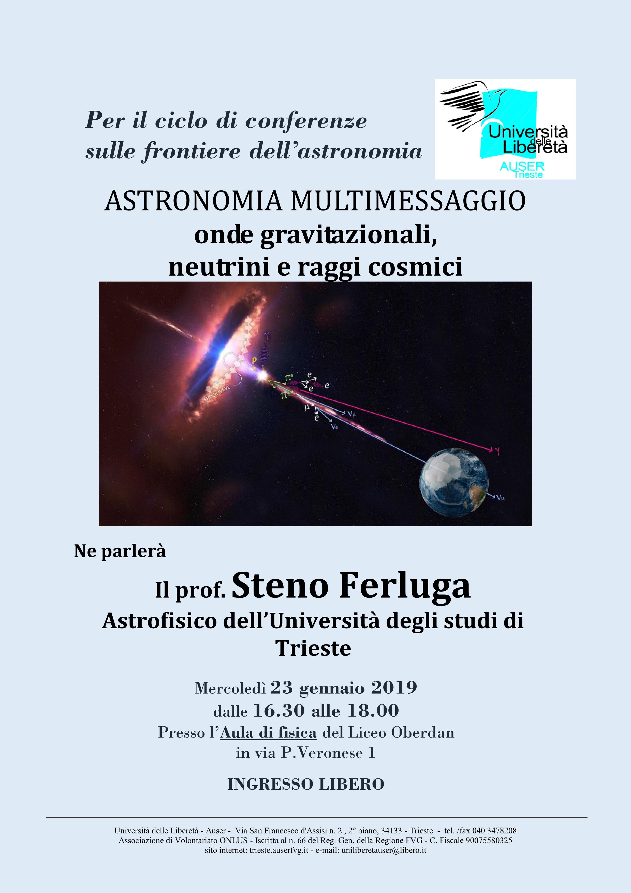 Astronomia multimessaggio1