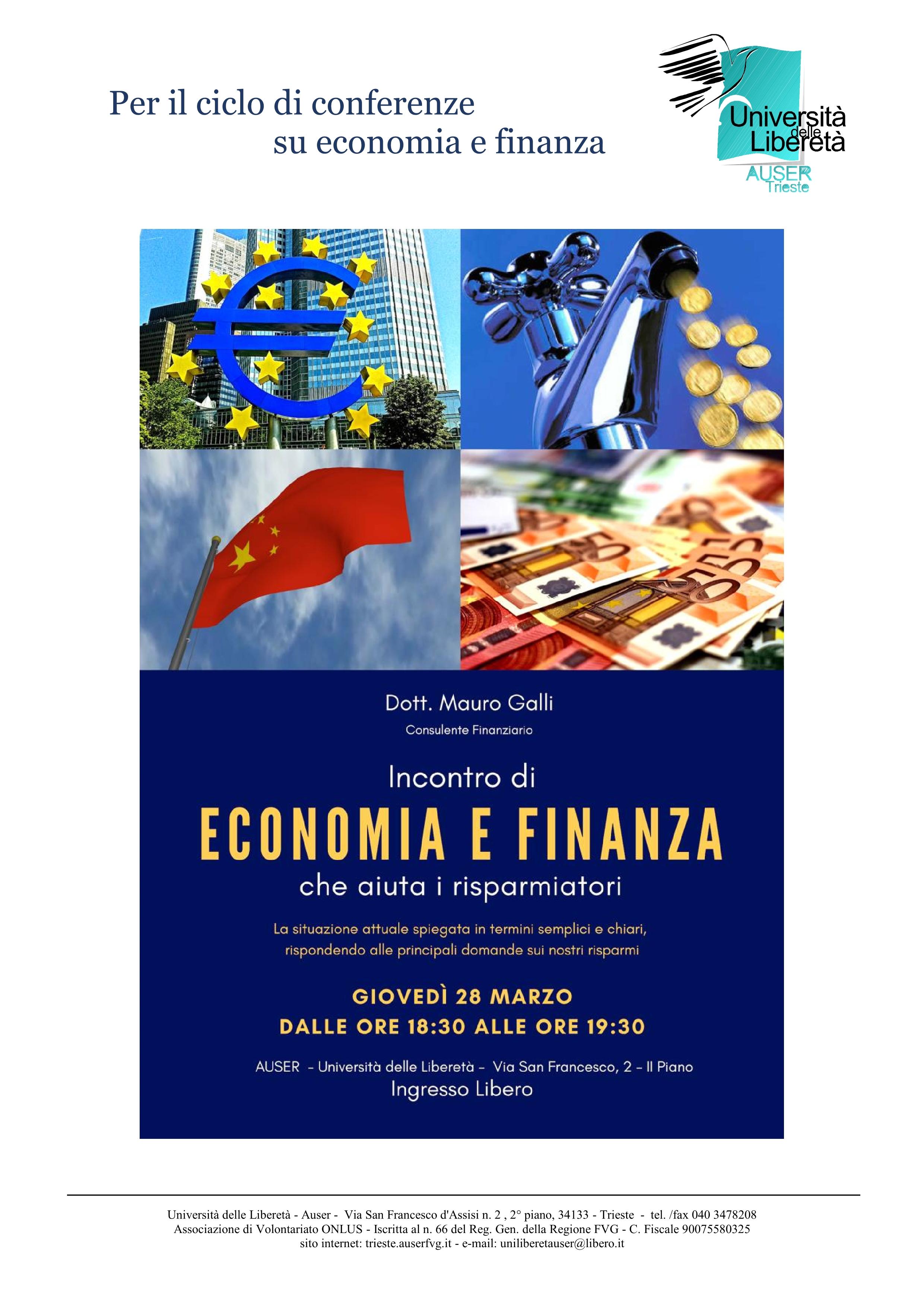 Economia e finanza 28-03-20191