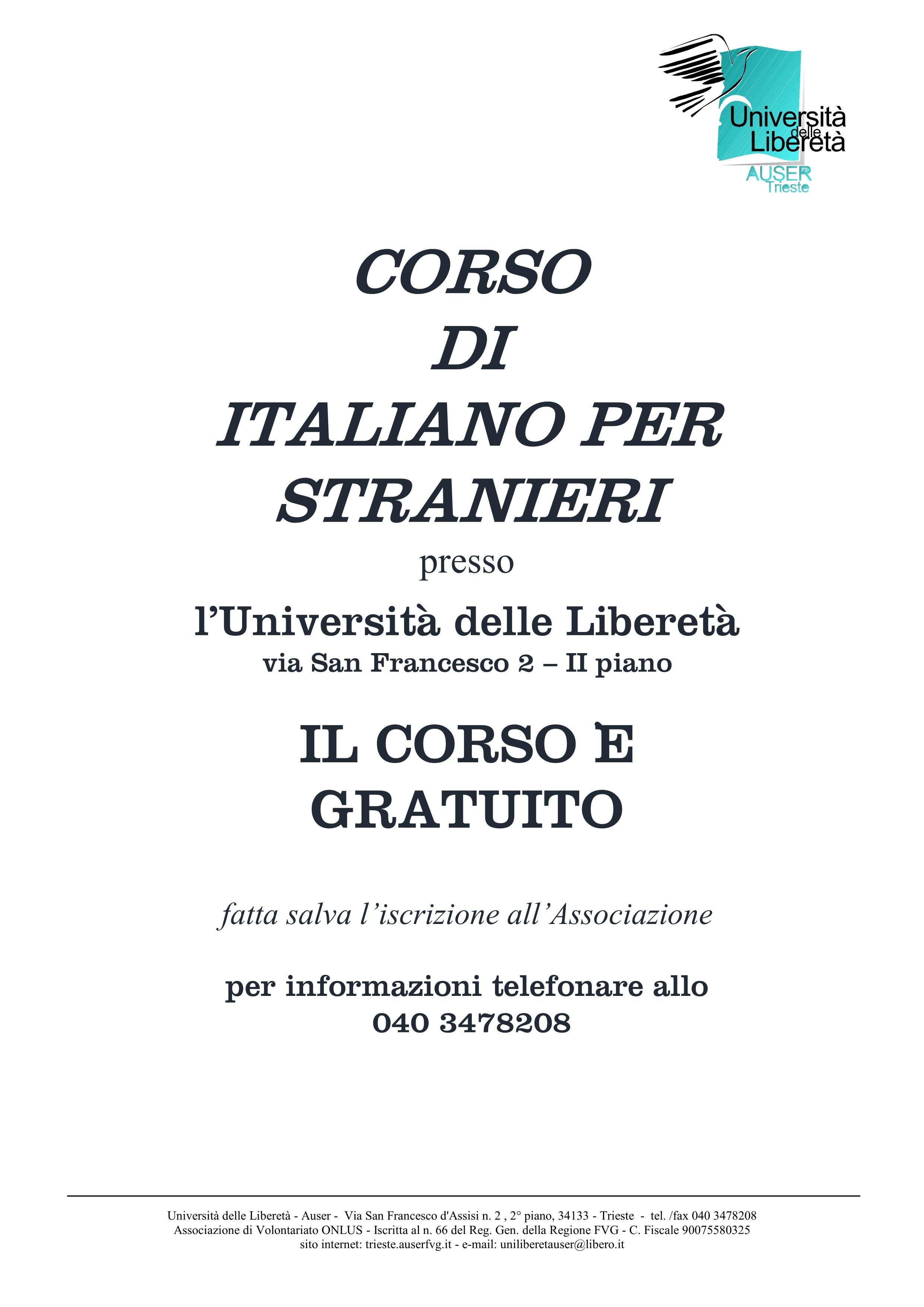 Italiano per stranieri locandina1