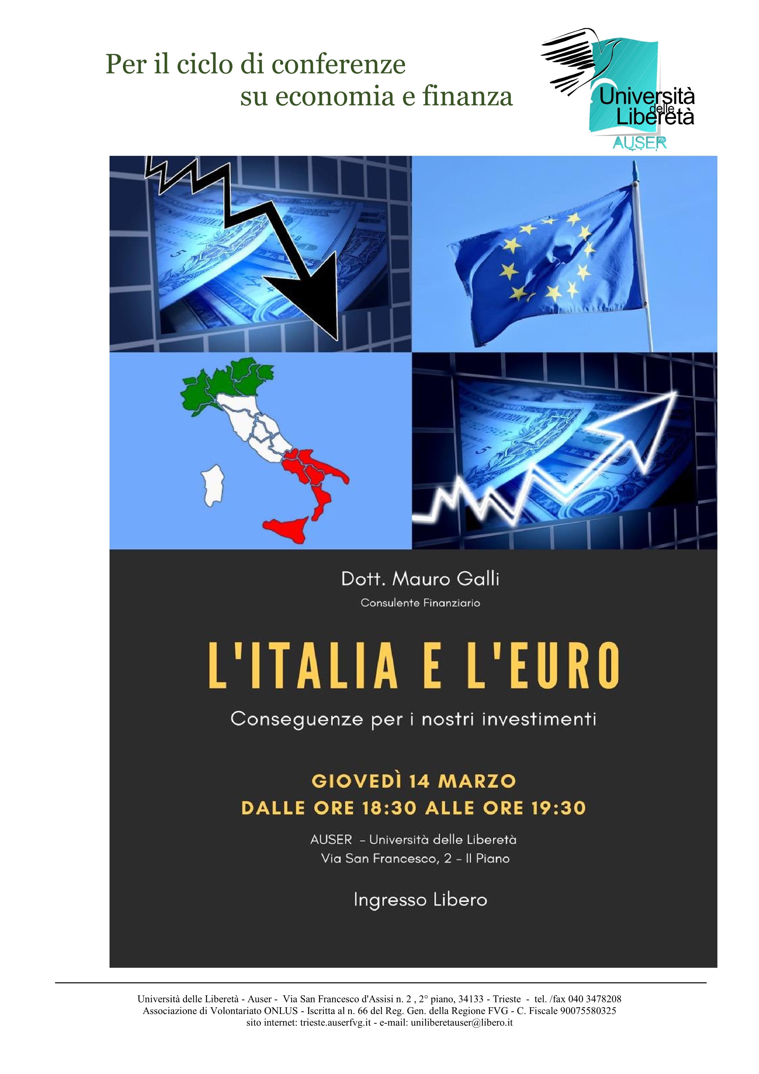 L'Italia e l'Euro1