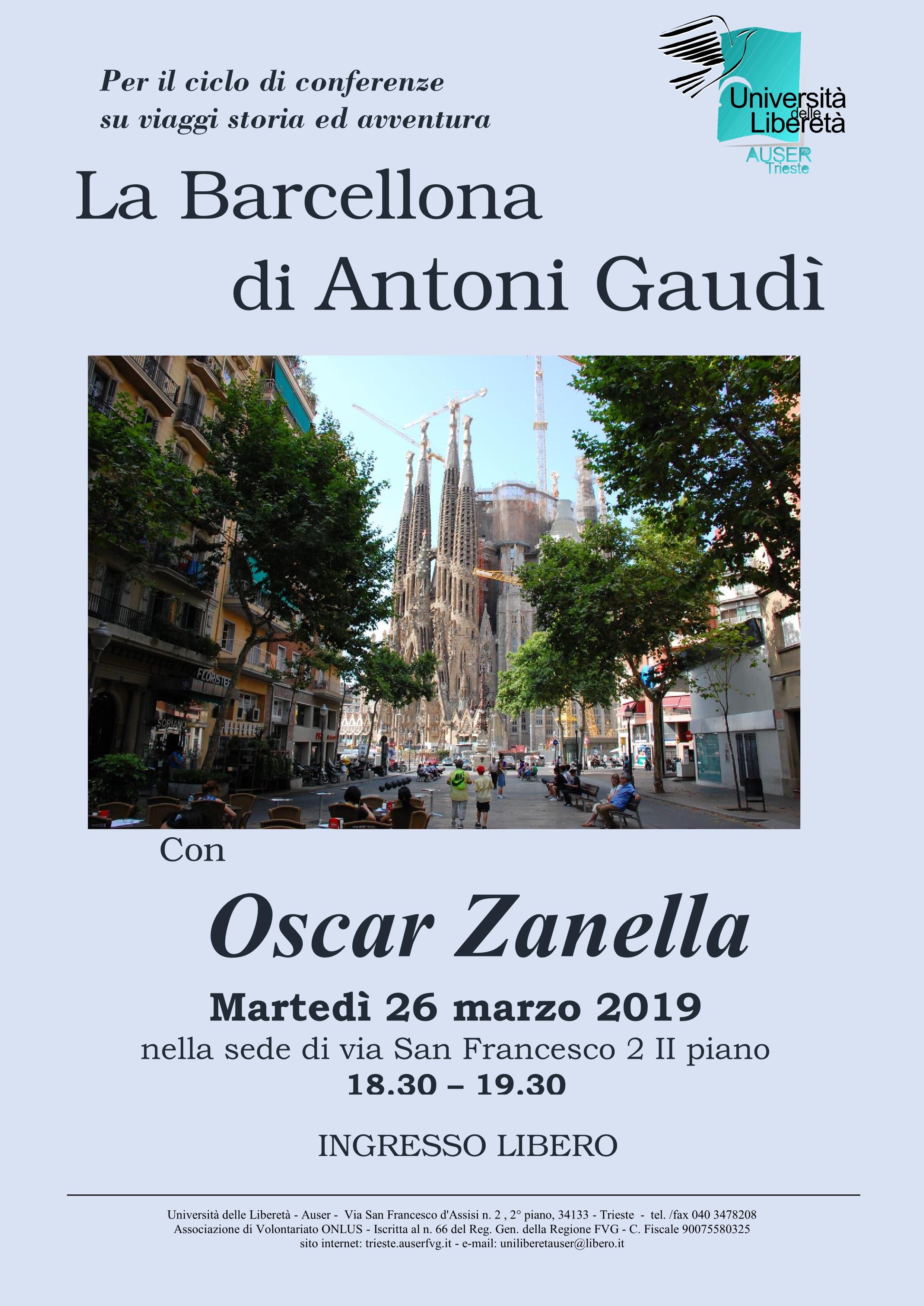 La Barcellona di Antoni Gaudì1