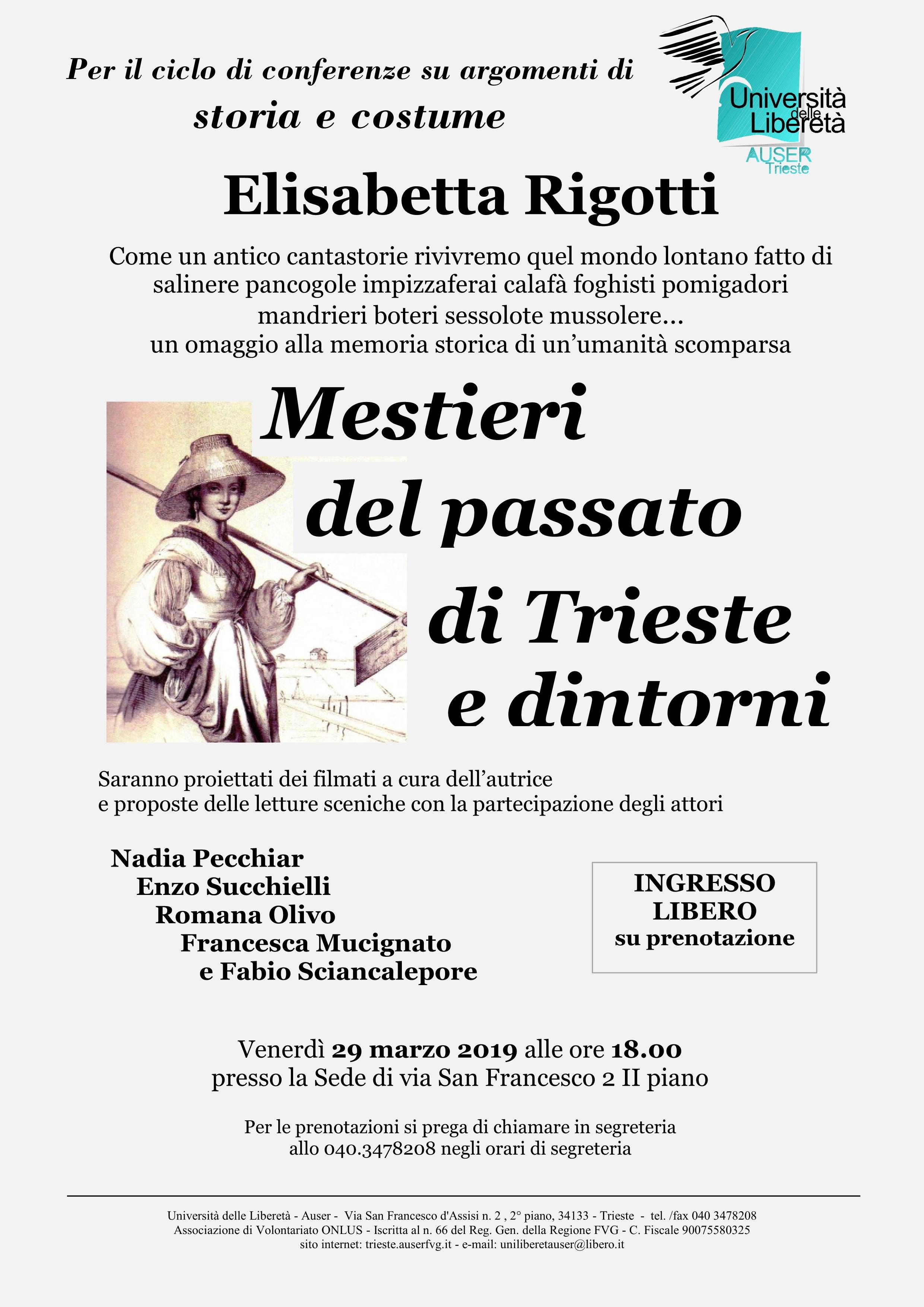 Mestieri del passato di Trieste e dintorni1