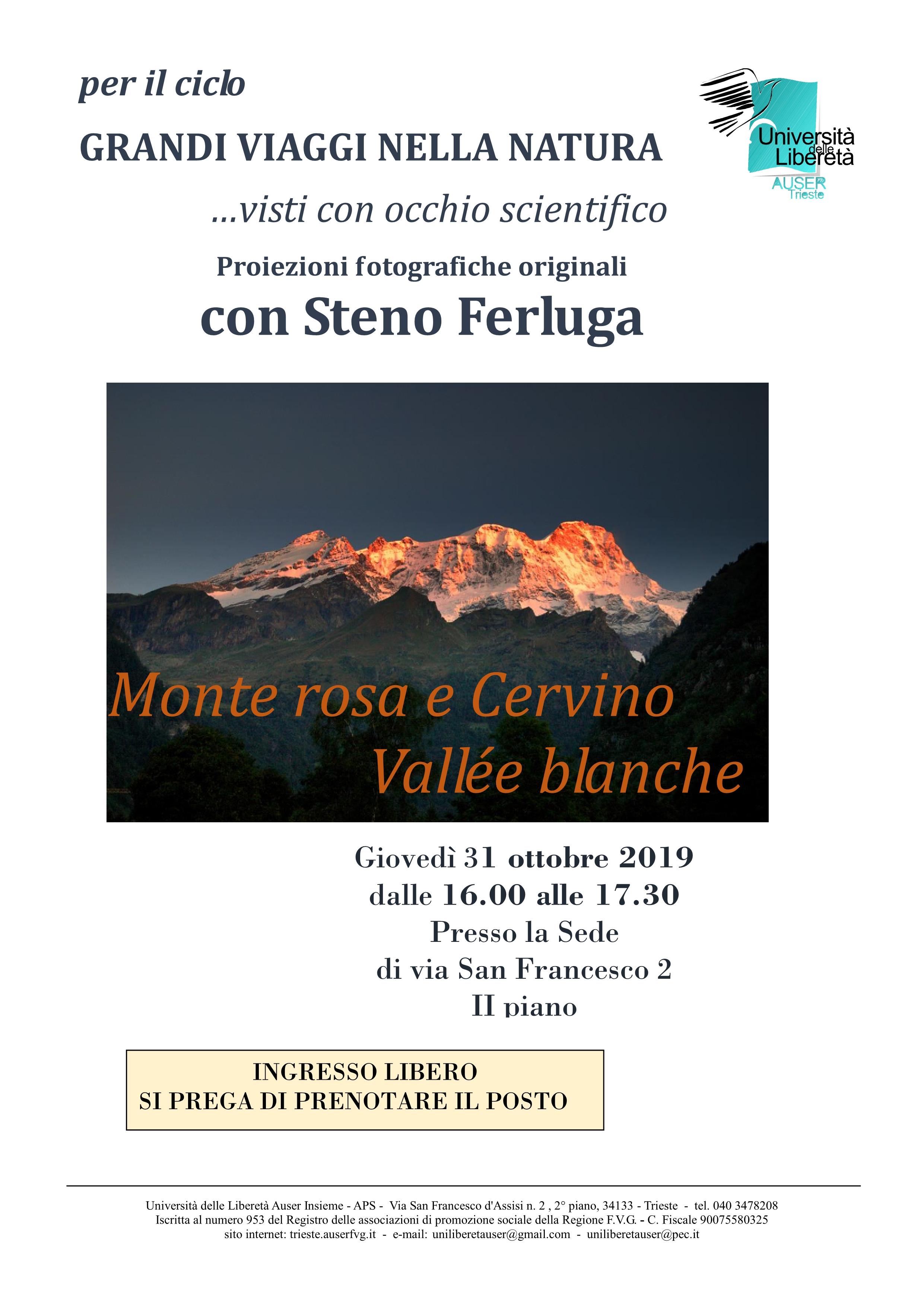 Alpi a 3000 metri. Monte Rosa e Cervino1
