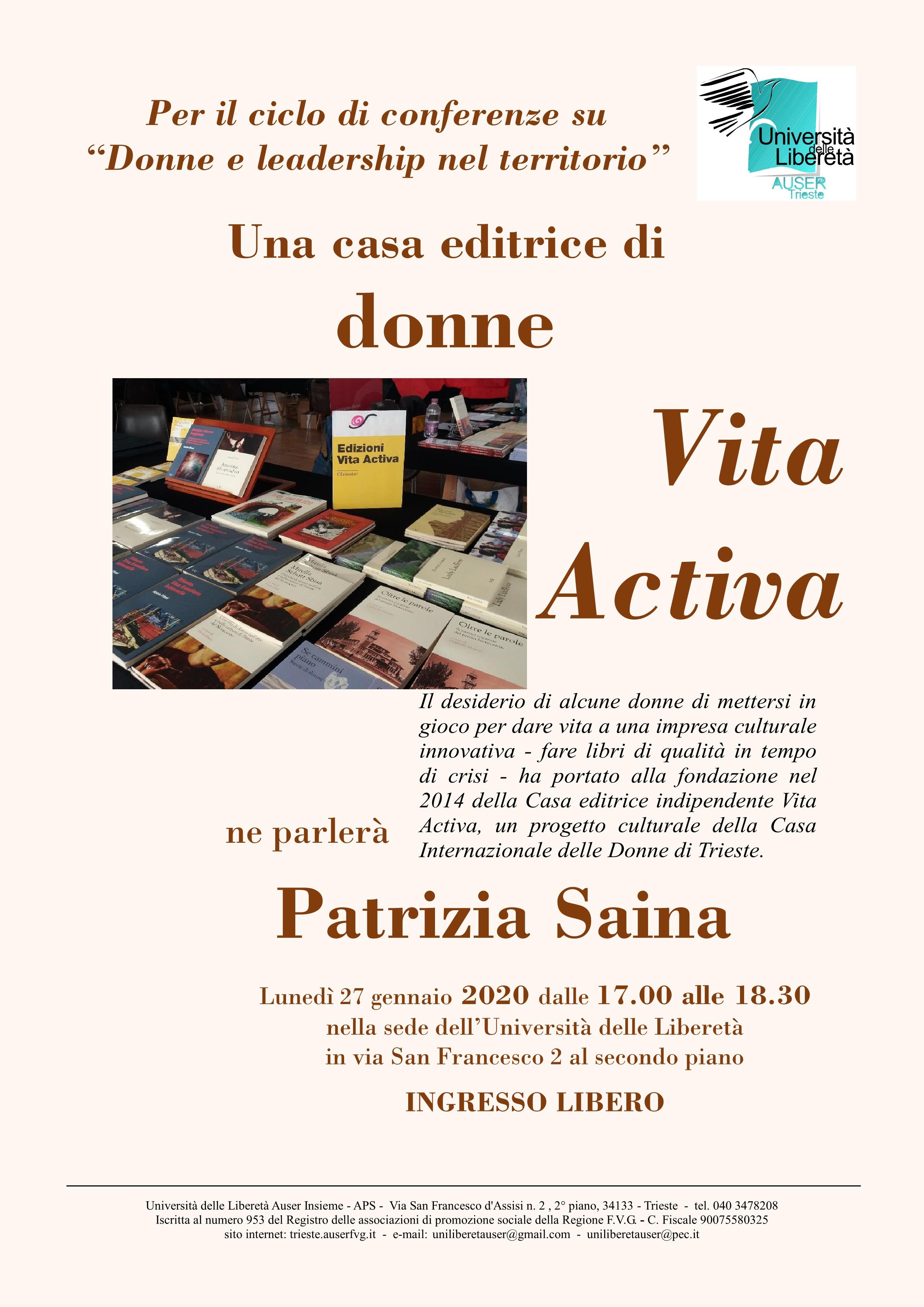 Patrizia Saina1