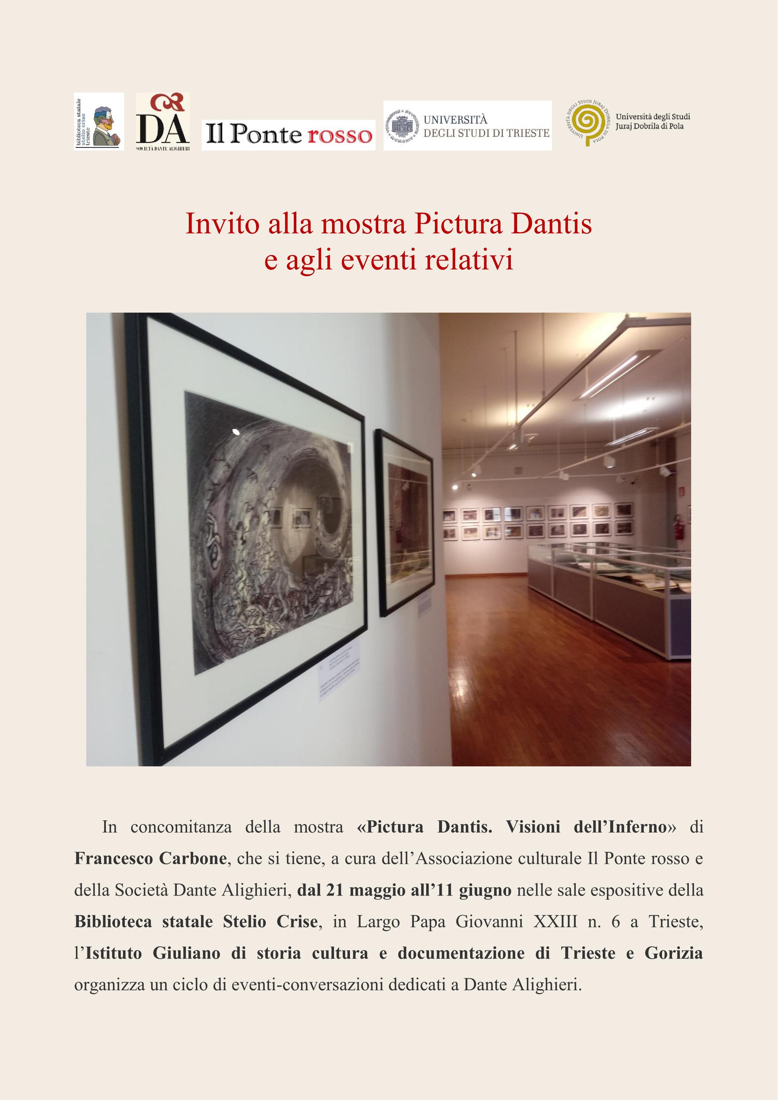 PONTE ROSSO INVITO MOSTRA E EVENTI PICTURA DANTIS1