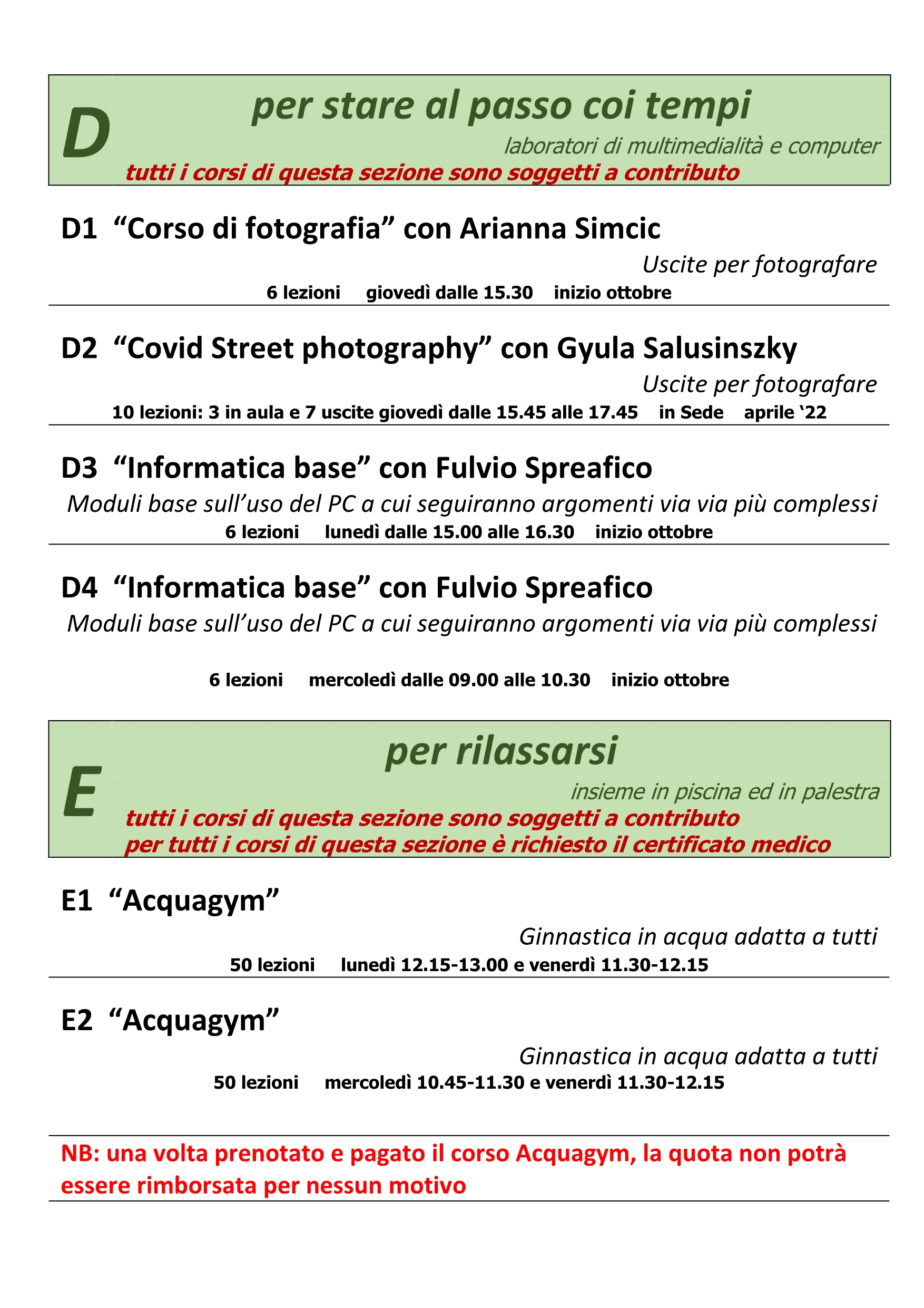 Brochure 2021-2022 pagina13